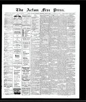 Acton Free Press (Acton, ON)27 Jun 1907