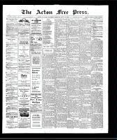 Acton Free Press (Acton, ON), July 11, 1907