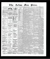 Acton Free Press (Acton, ON)18 Jul 1907