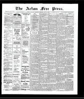 Acton Free Press (Acton, ON), July 25, 1907