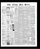 Acton Free Press (Acton, ON), August 8, 1907