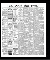 Acton Free Press (Acton, ON), August 15, 1907