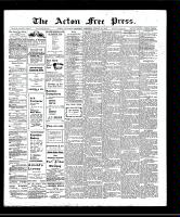 Acton Free Press (Acton, ON)22 Aug 1907