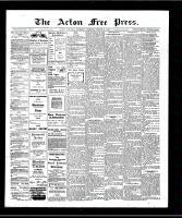 Acton Free Press (Acton, ON), August 29, 1907