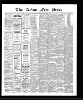 Acton Free Press (Acton, ON)5 Sep 1907