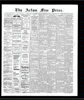 Acton Free Press (Acton, ON), September 12, 1907
