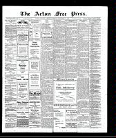 Acton Free Press (Acton, ON), September 19, 1907