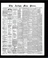 Acton Free Press (Acton, ON), October 10, 1907