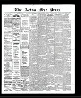 Acton Free Press (Acton, ON), October 17, 1907