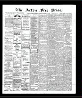 Acton Free Press (Acton, ON), October 24, 1907