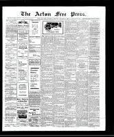 Acton Free Press (Acton, ON), October 31, 1907