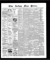 Acton Free Press (Acton, ON), November 7, 1907