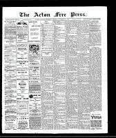 Acton Free Press (Acton, ON), November 14, 1907