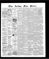 Acton Free Press (Acton, ON), November 21, 1907