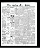 Acton Free Press (Acton, ON), November 28, 1907