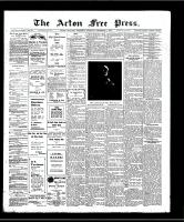 Acton Free Press (Acton, ON)5 Dec 1907
