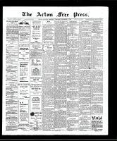 Acton Free Press (Acton, ON)12 Dec 1907