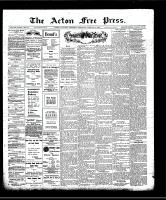 Acton Free Press (Acton, ON)2 Jan 1908