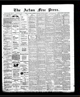 Acton Free Press (Acton, ON)16 Jan 1908