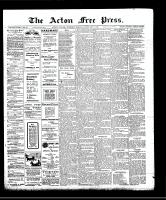 Acton Free Press (Acton, ON), February 6, 1908