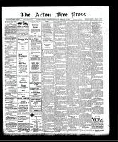 Acton Free Press (Acton, ON)20 Feb 1908
