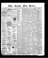 Acton Free Press (Acton, ON)19 Mar 1908