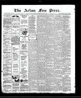 Acton Free Press (Acton, ON), April 2, 1908