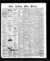 Acton Free Press (Acton, ON), April 9, 1908