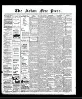 Acton Free Press (Acton, ON), April 30, 1908