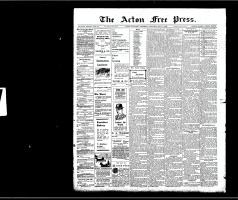 Acton Free Press (Acton, ON), May 7, 1908