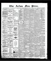 Acton Free Press (Acton, ON)21 May 1908