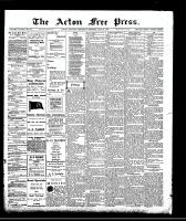 Acton Free Press (Acton, ON)28 May 1908