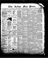Acton Free Press (Acton, ON)18 Jun 1908
