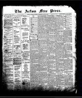 Acton Free Press (Acton, ON)25 Jun 1908
