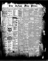 Acton Free Press (Acton, ON)9 Jul 1908