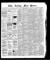 Acton Free Press (Acton, ON)30 Jul 1908