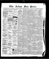 Acton Free Press (Acton, ON)6 Aug 1908
