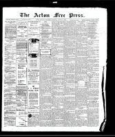 Acton Free Press (Acton, ON)13 Aug 1908