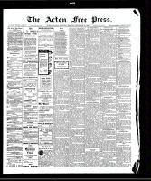 Acton Free Press (Acton, ON)10 Sep 1908