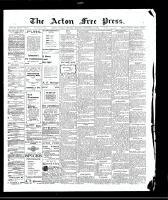 Acton Free Press (Acton, ON)17 Sep 1908