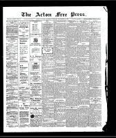 Acton Free Press (Acton, ON)24 Sep 1908