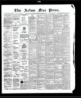 Acton Free Press (Acton, ON)1 Oct 1908