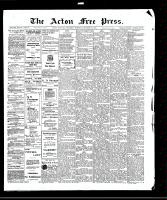 Acton Free Press (Acton, ON)15 Oct 1908