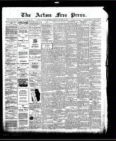 Acton Free Press (Acton, ON)22 Oct 1908