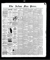 Acton Free Press (Acton, ON)29 Oct 1908