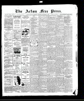 Acton Free Press (Acton, ON)5 Nov 1908