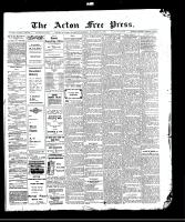 Acton Free Press (Acton, ON)12 Nov 1908