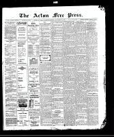 Acton Free Press (Acton, ON)12 Nov 1908