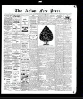 Acton Free Press (Acton, ON)24 Dec 1908