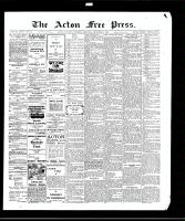 Acton Free Press (Acton, ON)31 Dec 1908